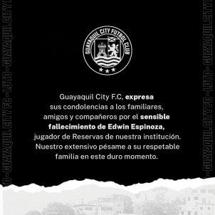 Guayaquil City Edwin Espinoza