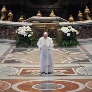 Papa Francesc missa diumenge resurrecció vaticà 20200412 (Efe)
