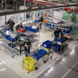 Seat operadors respiradors fabrica coronavirus Europa Press