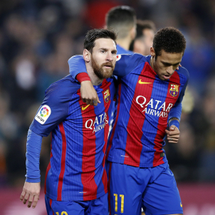 Leo Messi Neymar Barça Leganes EFE