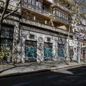 Coronavirus Barcelona negocis xines asiatic tancats botiga tancada - Sergi Alcazar