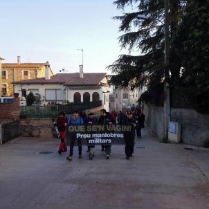 manifestacio celra @CUPNordOriental