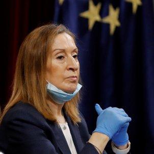 ana pastor presidenta congreso manos retrato europa guantes coronavirus españa efe