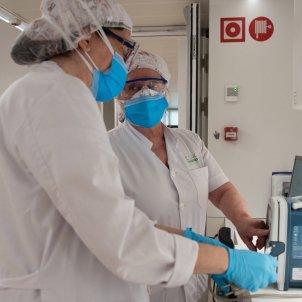 Hospital Clínic Barcelona coronavirus  EFE