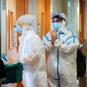 Personal sanitari Hospital del Mar coronavirus  EFE