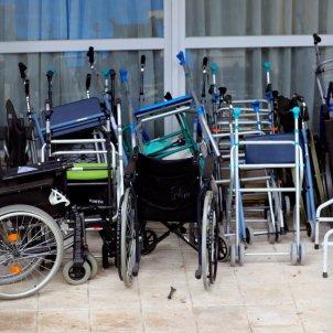 residència persones grans cadira rodes - EFE