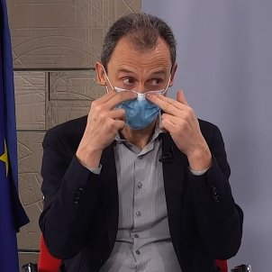 pedro duque EFE mascareta