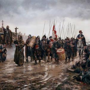Tercios hispanics. Obra d'August Ferrer Dalmau. Font Viquipèdia