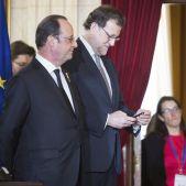 Rajoy Hollande - EFE