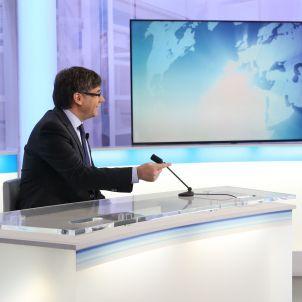 Puigdemont entrevista Tv França