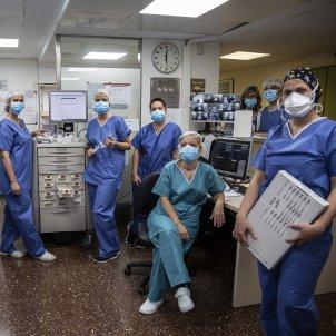 Equip infermeria infermera Hospital Clinic UCI Sergi Alcazar 01