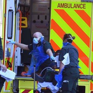 Coronavirus Regne unit ambulancia - Efe