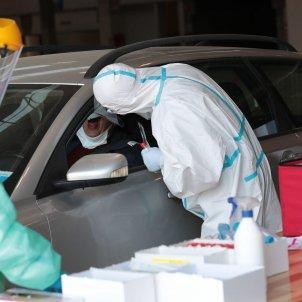 coronavirus test cotxe Italia - Efe