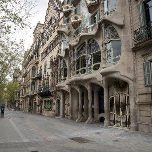 Coronavirus Casa Batlló turisme barcelona buida - Sergi Alcàzar
