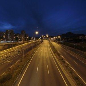 Coronavirus carretera buida autopista C-17 Barcelona Buida - Sergi Alcàzar