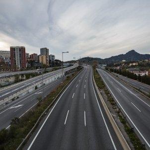 Coronavirus carretera buida autopista C-17 Barcelona Buida transit - Sergi Alcàzar