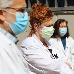 Metges Catalunya coronavirus - Europa Press