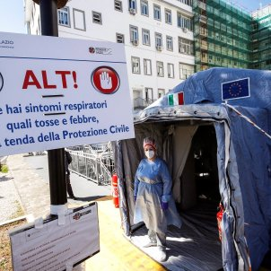 italia coronavirus hospital campanya - efe