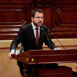 Pere Aragonès Parlament - EFE