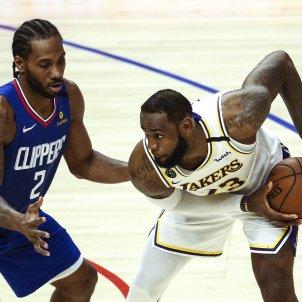 Kawhi Leonard Lebron James NBA Clippers Lakers Europa Press
