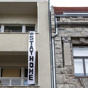 protesta balco berlin coronavirus alemanya  - efe