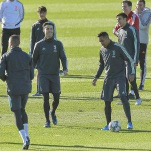 Cristiano Ronaldo Juventus entrenament Champions Europa Press