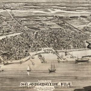 L'arrel catalana de Florida. Saint Augustin. 1885