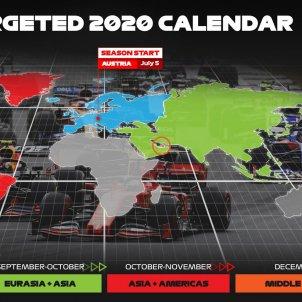 Calendari Formula 1 F1 @f1