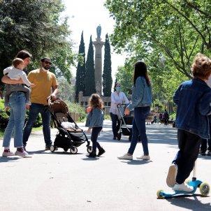 coronavirus   barcelona   sortida   nens   sagrada familia   acn