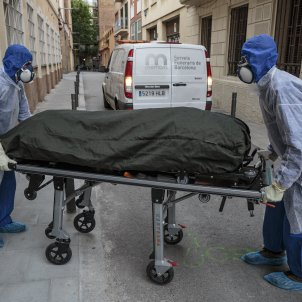 Coronavirus Mort Residencia avis Memora - Sergi Alcazar