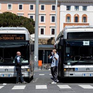 Italia coronavirsu autobusos - Efe