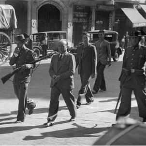 La República espanyola retalla la Llei d'Amnistia amb la vista posada a Catalunya. Repressió després del Sis d'Octubre. Font Enciclopedia
