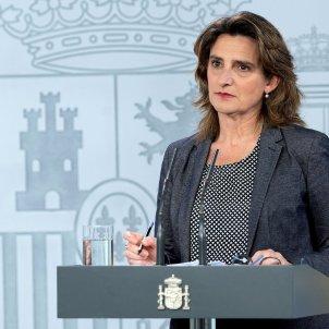 Teresa Ribera ministra transición Ecológica EFE