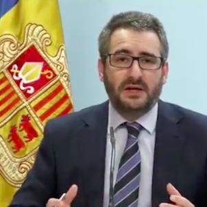 Eric Jover ministre portaveu Andorra Govern