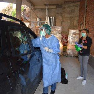 personal sanitari andorra stop lab probes coronavirus cotxe acn