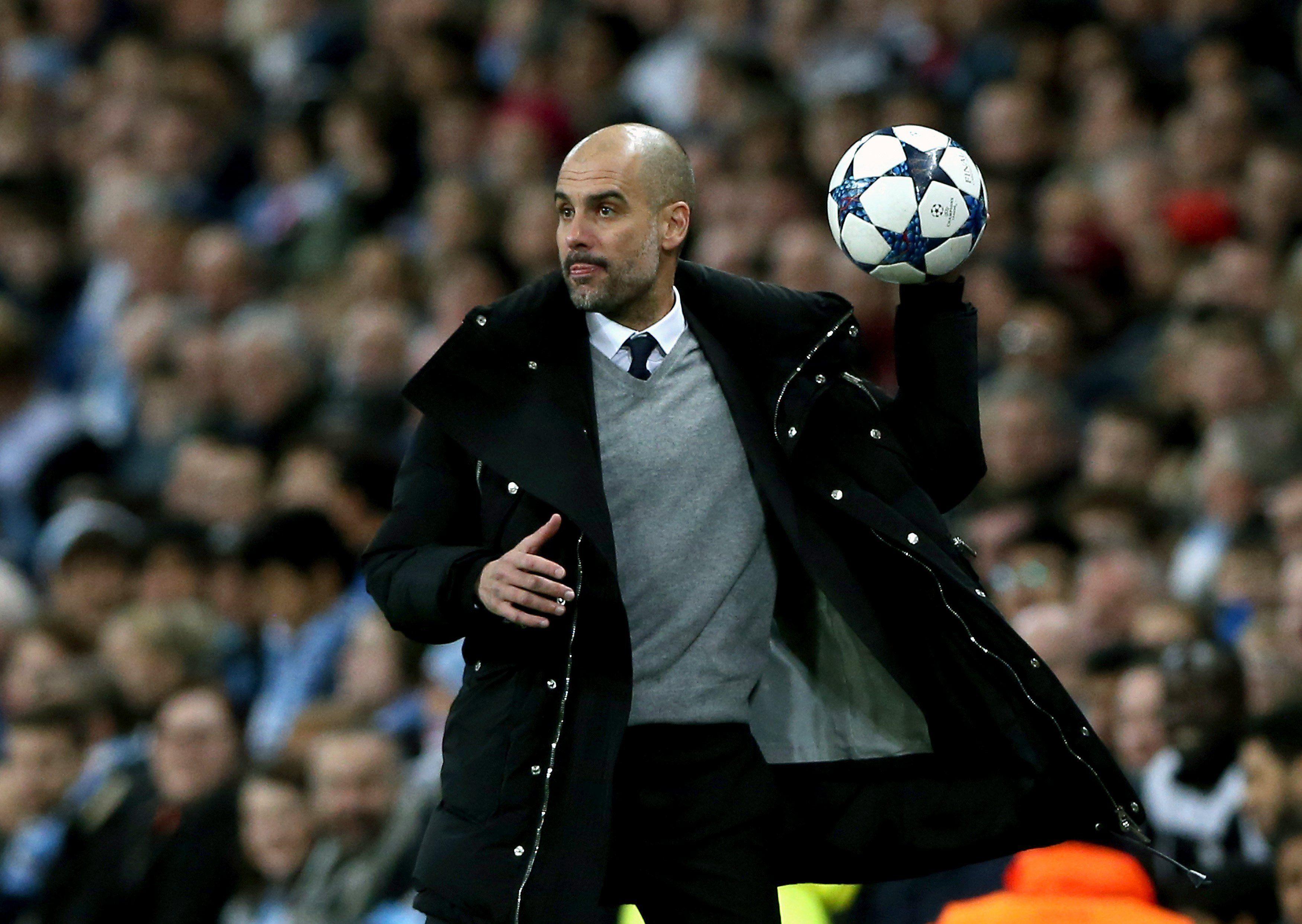 Pep Guardiola Manchester City Monaco EFE