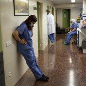 Nuevos contagios coronavirus UCI Hospital Clinic Sergi Alcazar