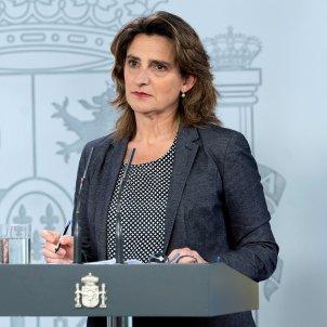 teresa ribera vicepresidenta transicio ecologica EFE