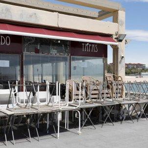 Terrasses restaurant coronavirus Barcelona EFE
