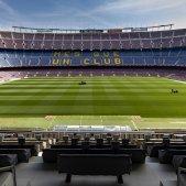 Camp Nou buit EFE