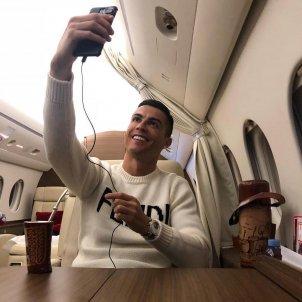 Cristiano Ronaldo avio @cristiano