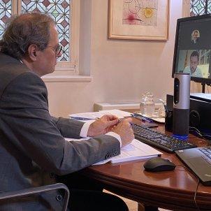 Reunió Govern Quim Torra maig Ruben Moreno
