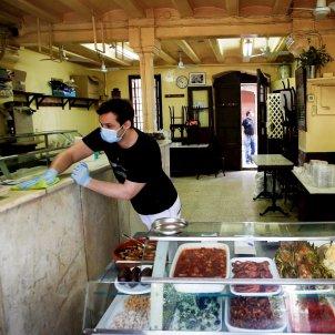 menjar per emportar restaurant coronavirus Barcelona EFE