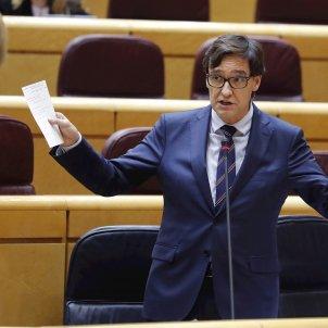 Salvador Illa Senado EFE