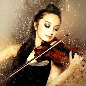 Violí violinista (Art Tower)