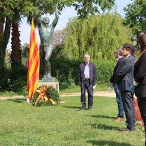 Commemoració capitulació nazi Parlament