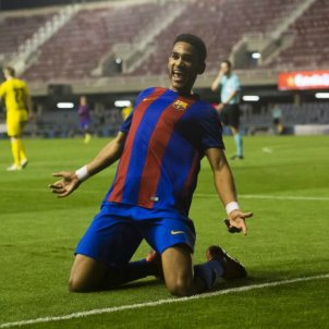 Jordi Mboula Barça Juvenil FCB