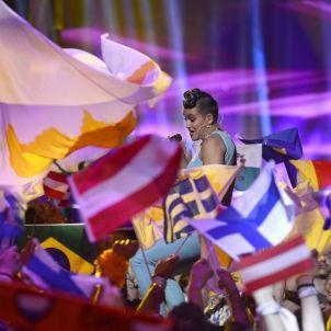 Eurovisió ha practicat una política de banderes que se li gira en contra / Efe