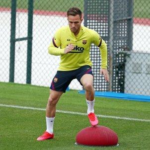 Arthur Melo entrenament Barca FC Barcelona
