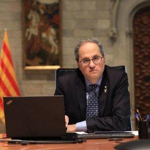 Quim Torra consell executiu Ruben Moreno